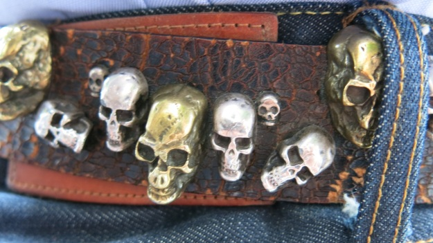 Skull belt and Tanner Goods Workmen Wallet3