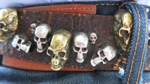 Skull belt and Tanner Goods Workmen Wallet3