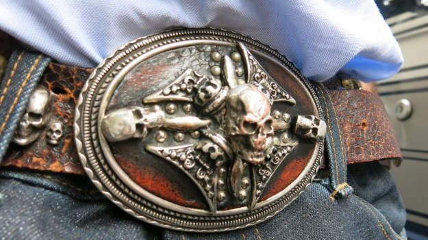 Skull belt and Tanner Goods Workmen Wallet4