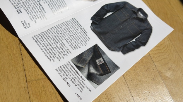 Tellason Topper Denim Shirt Manufactum Monatsbrief September 2013