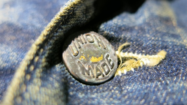 VMC Denim Department Buttons Union Made