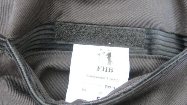 FHB Zunftjacke Kluft Jacket Corduroy Cord Walz 518