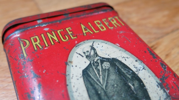 Prince Albert Cigar Box 198