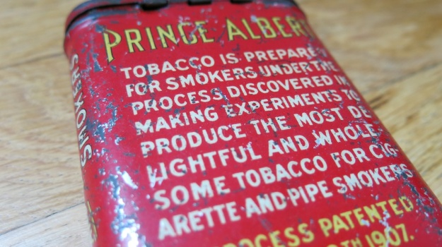 Prince Albert Cigar Box 200