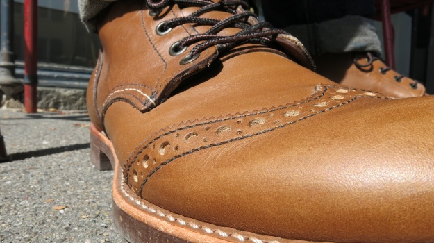 Red Wing 8128 Brogue Ranger Velva Retan 391