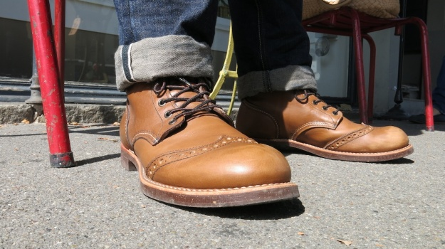 Red Wing 8128 Brogue Ranger Velva Retan 392