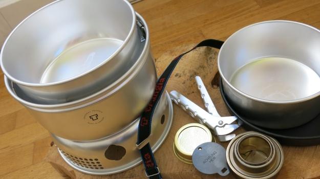 Trangia 25-3 UL Cooking System Spiritus stove unboxing