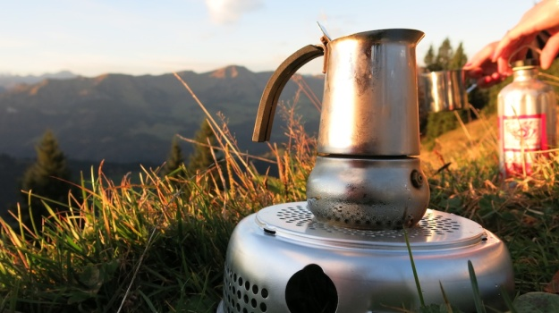 Autumn hiking with bivouac  - Trangia Alcohol Stove 851