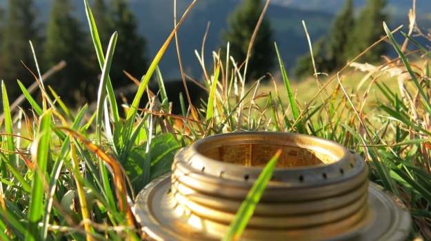 Autumn hiking with bivouac  - Trangia Alcohol Stove 865