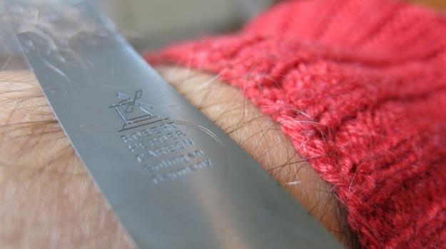 Herder Buckelsklingen Messer Carbon 663