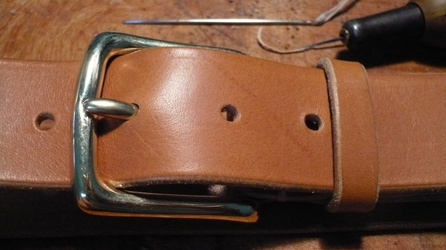 be-cause leather work belts leash leash iphone hand sewn 064