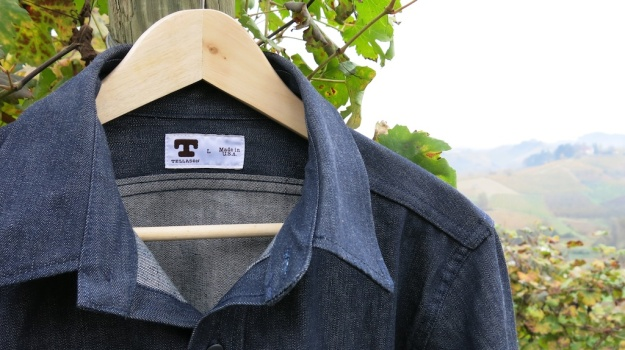 Tellason Clampdown Denim Shirt 950