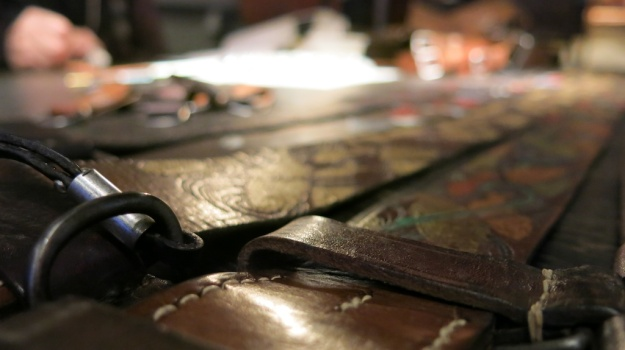 Dukes Artisan Belts Handpainted - B74 Frankfurt  150