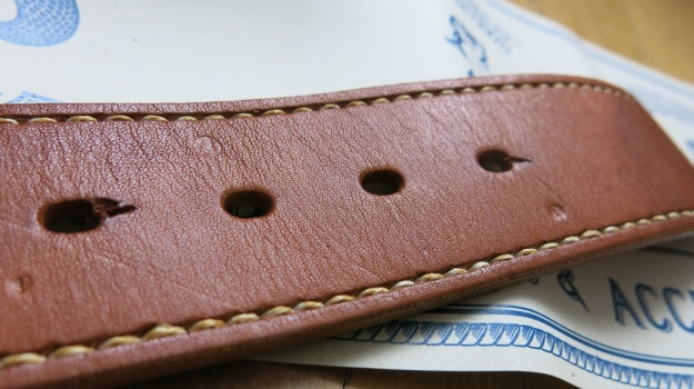 Soxisix BROWN CURVE SEAM Belt Distributed by Red Owl 252