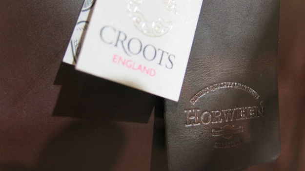 Croots England Bags English Briddle Leather Horween  622