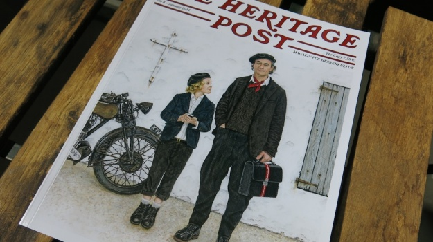 The Heritage Post No.8 - 2014 Cover