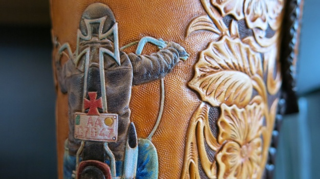 Custom Leather Armin Dobstetter Ellwangen Workshop 888