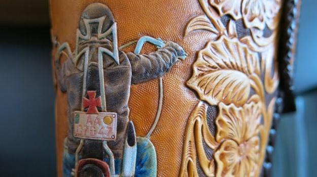 Custom Leather Armin Dobstetter Ellwangen Workshop 888