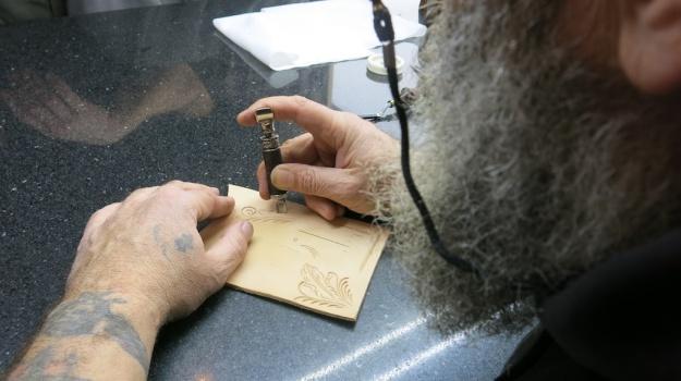 Custom Leather Armin Dobstetter Ellwangen Workshop 906