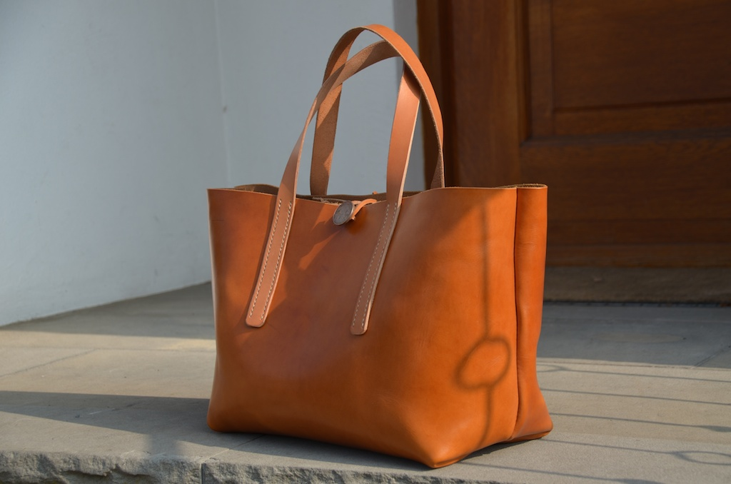 be-cause-bag – Leather Tote bag project | be-cause – style, travel ...