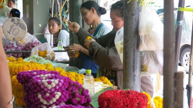 Flowermarket Bangkok Thailand 079