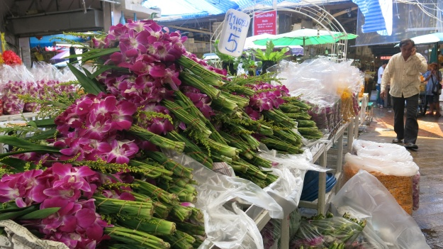 Flowermarket Bangkok Thailand 082