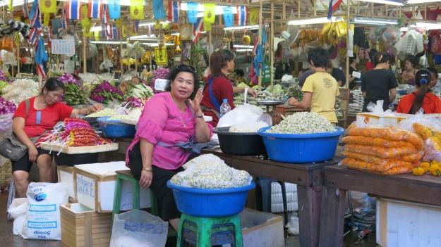 Flowermarket Bangkok Thailand 083