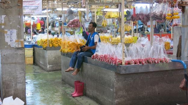 Flowermarket Bangkok Thailand 085