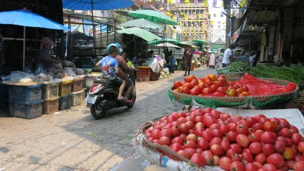 Flowermarket Bangkok Thailand 088