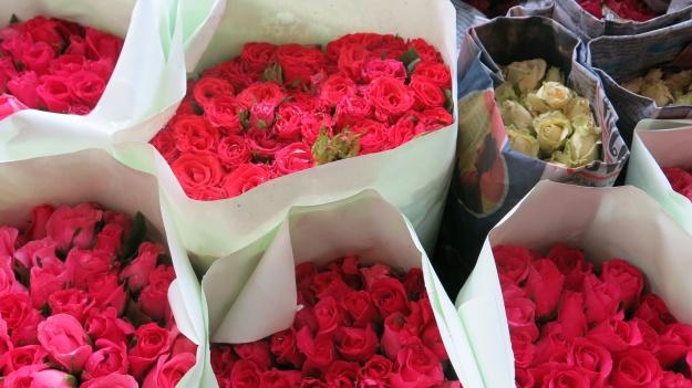 Flowermarket Bangkok Thailand 089