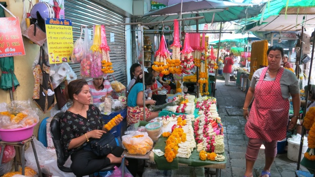 Flowermarket Bangkok Thailand 091