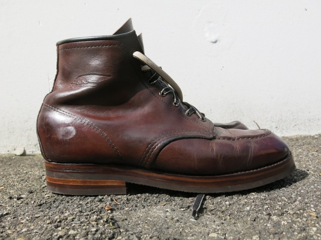 Red Wing 1908 Resole by Werner Sibla bespoke shoemaker 099