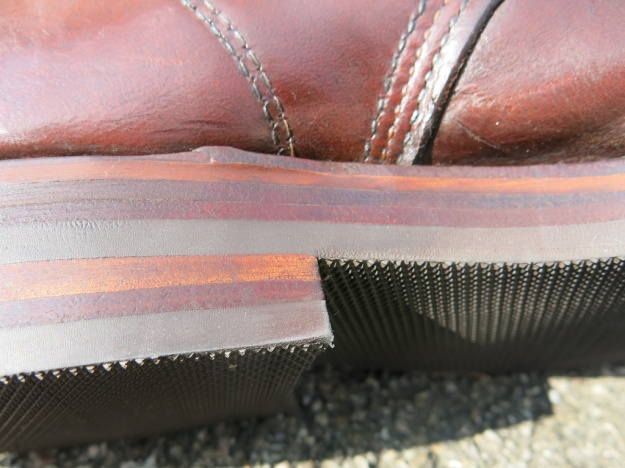 Red Wing 1908 Resole by Werner Sibla bespoke shoemaker 104