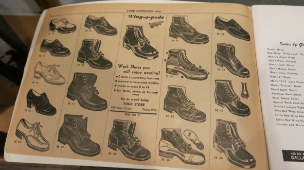 Red Wing Shoes Frankfurt Archive Deadstock Catalogue 357