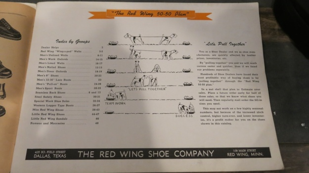 Red Wing Shoes Frankfurt Archive Deadstock Catalogue 359