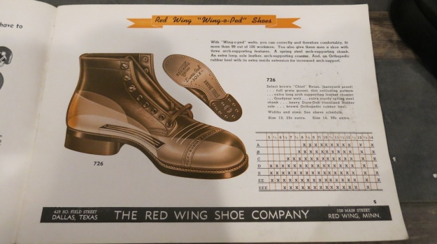 Red Wing Shoes Frankfurt Archive Deadstock Catalogue 360
