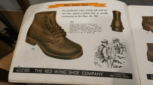 Red Wing Shoes Frankfurt Archive Deadstock Catalogue 361