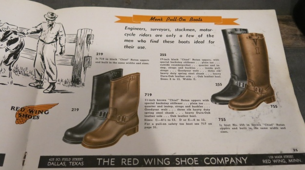 Red Wing Shoes Frankfurt Archive Deadstock Catalogue 362