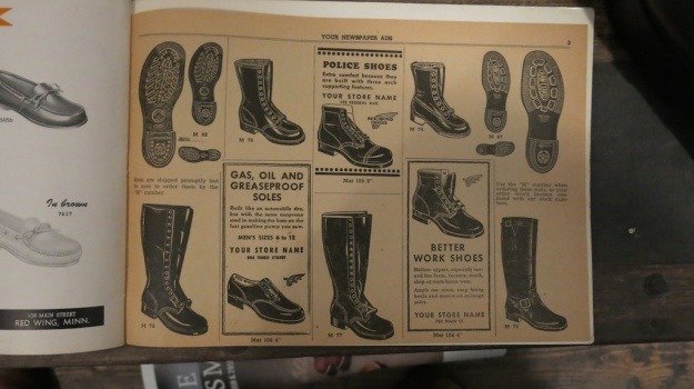 Red Wing Shoes Frankfurt Archive Deadstock Catalogue 365