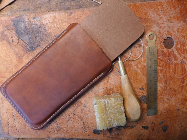 iphone6 cover leather hand sewn  820