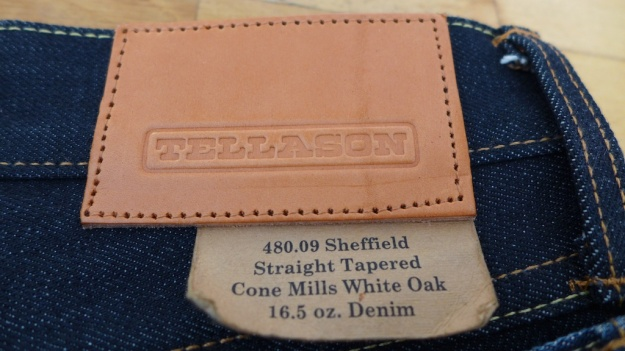 Tellason Sheffield 16.5 Raw Denim Jeans 838