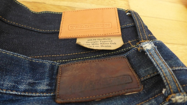 Tellason Sheffield 16.5 Raw Denim Jeans 839