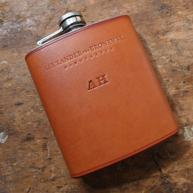 Leder Flachmann - Flask Leather