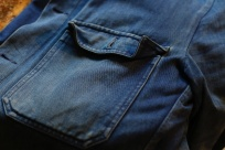Lanza Jacket 1st Pat-rn indigo selvage denim 1